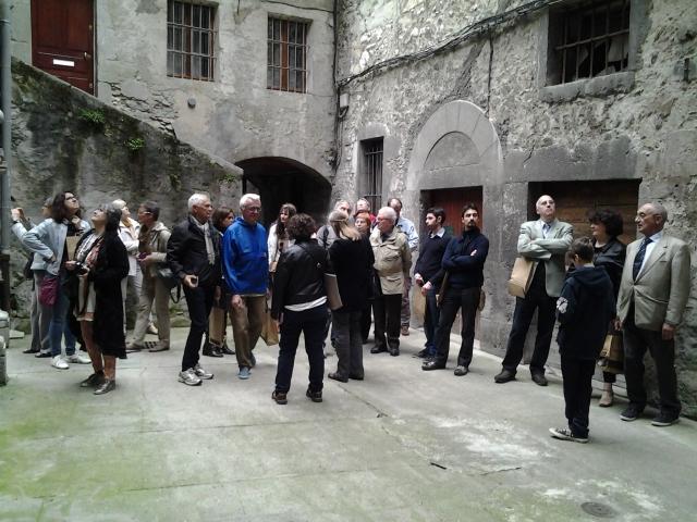 Visite digestive de Chambéry en italien par un guide de la ville / Digesta vizito tra Ĉamberio per urba gvidisto